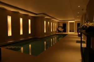 Weybridge Pool Lighting Scene