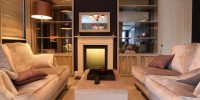 Bedroom Mirrored TV